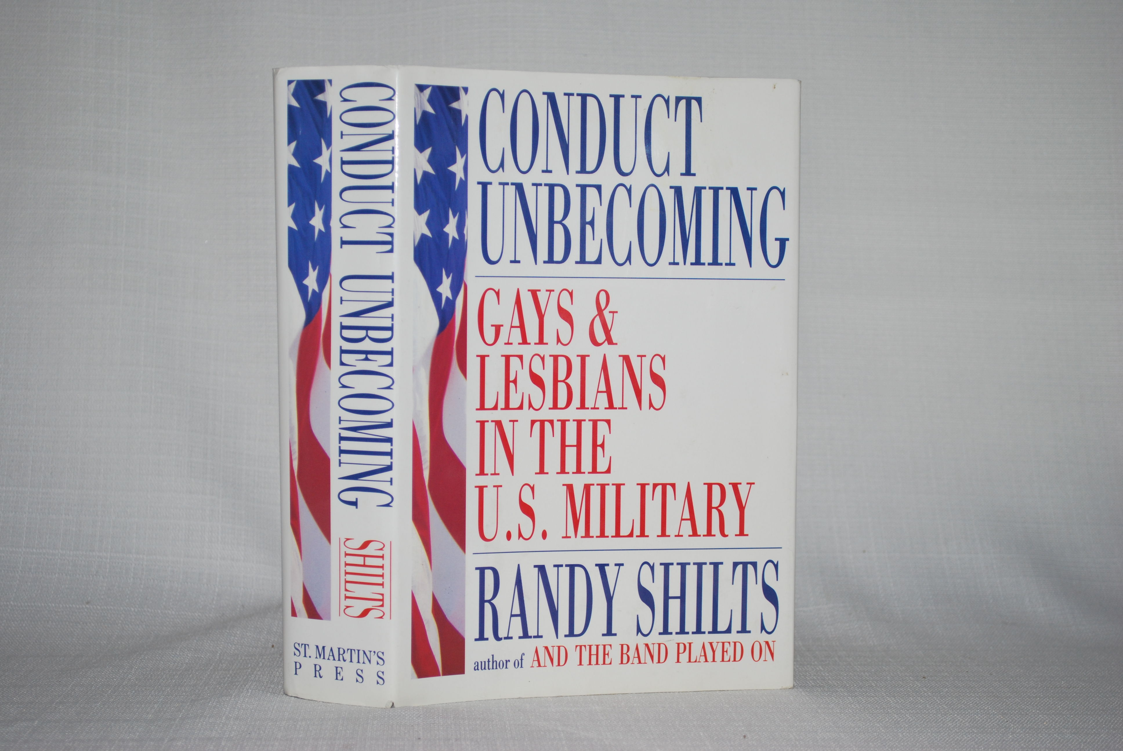 from Peter conduct gay in lesbian military u.s unbecoming