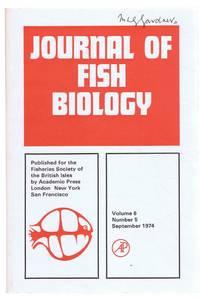 Journal of Fish Biology. Volume 6, Number 5, September 1974