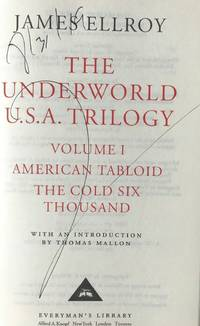 THE UNDERWORLD U.S.A. Trilogy, Volume I, (SIGNED, DATED)