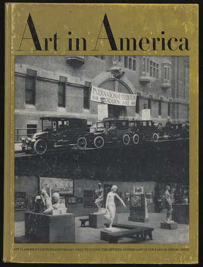 New York: Art in America Co, 1963. Hardcover. Very Good. First edition. Volume 51 No. One, February ...