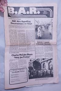 image of B.A.R. Bay Area Reporter; vol. 9, #21, October 11, 1979; ABC Airs Appalling Documentary on Gays