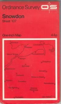 One-Inch Map of Great Britian Sheet 107 Snowdon