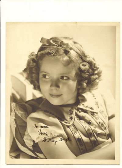 The iconic child star has inscribed and signed,