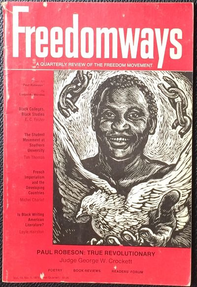 New York: Freedomways Associates, 1973. Single issue of the paperback journal, 96p., covers mildly w...