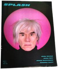 splash no6 art fashion magazine 1986 andy warhol cover also peter max tmothy leary james rosenquist
