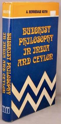 image of Buddhist Philosophy in India and Ceylon.