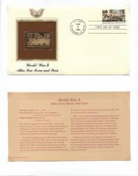 image of 1994 FDC Allies Free Rome & Paris USS Normandy Cancel