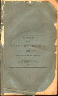 Acts of the State of Georgia, 1847