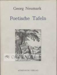 Jena: J.J. Bauhofer, 1667 (but Frankfurt: Athenaum Verlag, 1971. cloth, dust jacket. 8vo. cloth, dus...