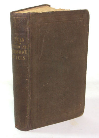 Boston and Cambridge: James Munroe And Company, 1849. First Edition. First and only Printing Very go...