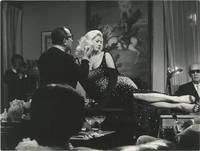 Boccaccio 70 (Two original photographs taken on the set of the 1962 film)