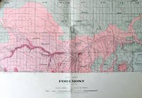 Fold-Out Geological Survey Map in Colour. Map 566a Foremost, Alberta
