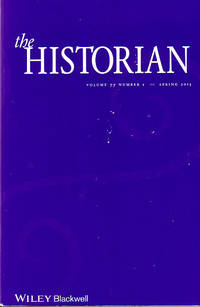The Historian, Volume 77 Number 1 Spring 2015