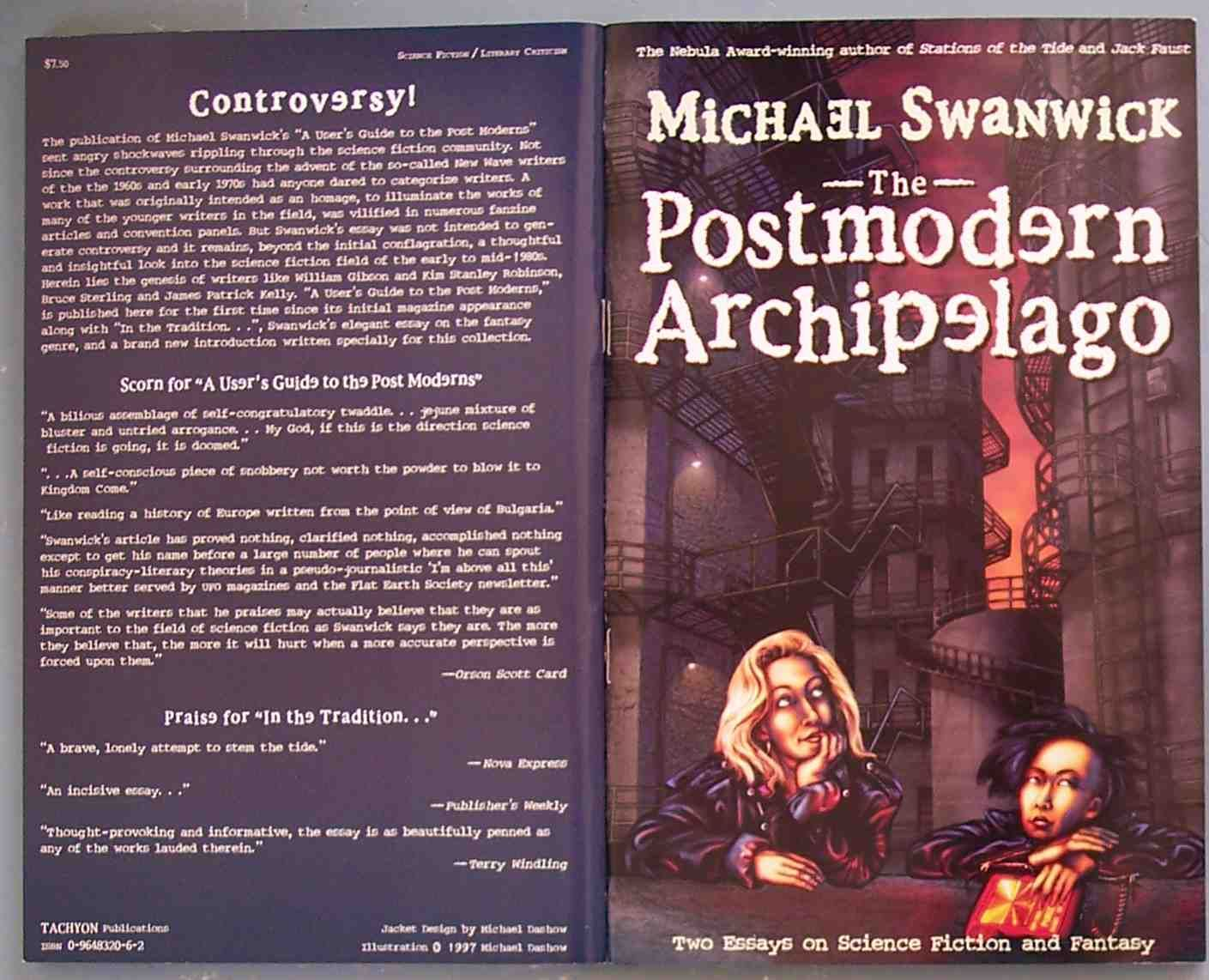 the postmodern archipelago two essays on science    the postmodern archipelago two essays on science fiction   fantasy by michael swanwick