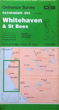 Whitehaven and St. Bees Pathfinder sheet 593 by Ordnance Survey - Scale 1:25,000 - 1990 - from Acanthophyllum Books and Biblio.com