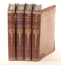 The Great War, the publisher's Home Library binding in four volumes with previously unknown...