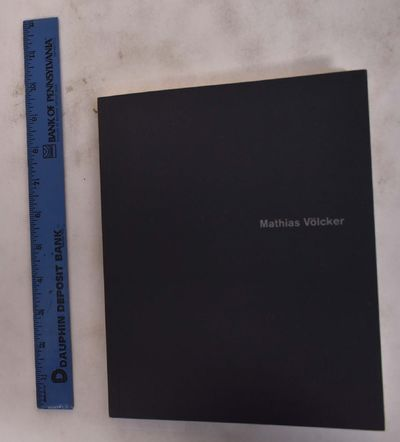 Frankfurt am Main, Germany: Museum für Moderne Kunst, 1996. Softcover. VG. light sunning to spine. ...
