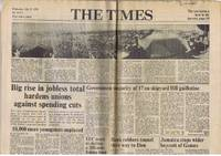 image of The Times July 21 1976: Viking Landing on Mars