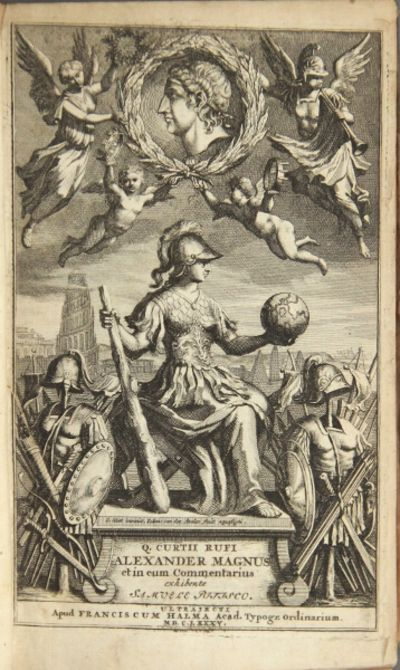 Ultrajecti: Franciscum Halma, 1685. Thick 8vo, pp. , 1-847, ; engraved title page, folding engraved ...