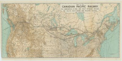 Map of the Canadian Pacific Railway,...