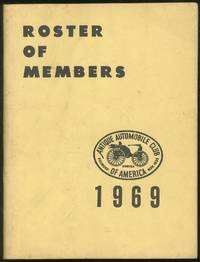 Roster of Members Antique Automobile Club of America