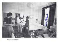 """SIGNED PHOTOGRAPHIC REPRODUCTION from SHAKESPEARE NEVER DID THIS: """"Mannheim: The Park Hotel"""""""