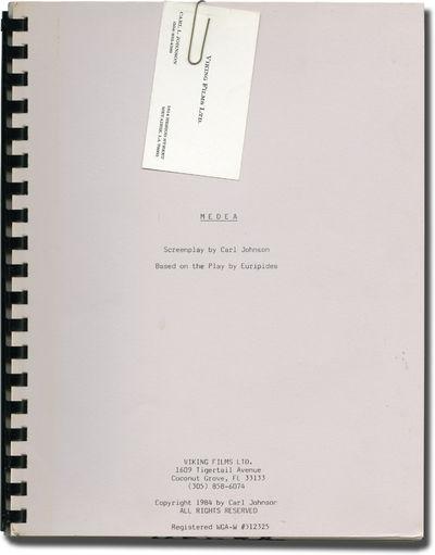 Coconut Grove, FL: Viking Films, 1984. Treatment script for an unproduced film. Business card for Ca...