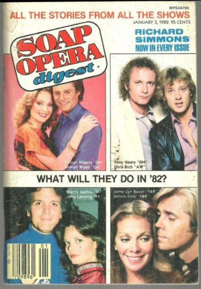 SOAP OPERA DIGEST - Soap Opera Digest January 5, 1982