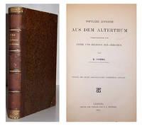 Populare Aufsatze aus dem Alterthum Vorzugsweise zur Ethik und Religion der Griechen.