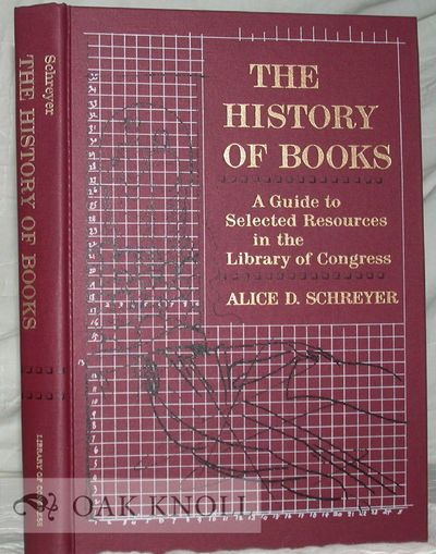 Washington: The Center for the Book, Library of Congress, 1987. cloth. 8vo. cloth. xiv, 221+(1) page...