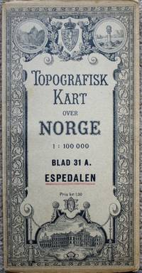 kart espedalen Topografisk Kart over Norge / Topographical Map of Norway: Blad  kart espedalen