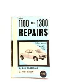 1100-1300 Repairs by B C Macdonald - Paperback - 1974 - from World of Rare Books (SKU: 1588681884CDB)