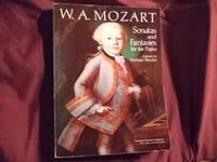 W.A. Mozart. Sonatas and Fantasies for the Piano. Sheet music.