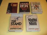 Carrie; Salem's Lot; The Shining; The Stand; Night Shift-by Stephen King -5 Doubleday Hardcover Editions in Dustjackets