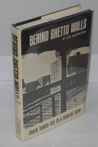 Behind ghetto walls; black families in a ghetto slum