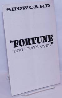 image of Showcard: Fortune and Men's Eyes August, 1967