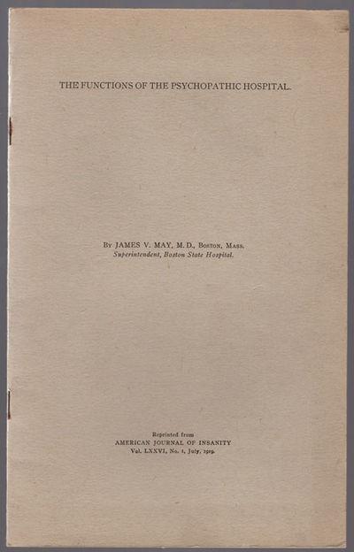 : American Journal of Insanity, . 8vo (23.5 cm, 9.25