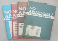 No Apologies A Magazine of Gay Writing #2, 3, 4 and 5 (Four Issues)