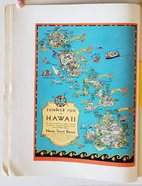 """Fortune Magazine.  1930 - 05.  (Containing Ruth Taylor White pictorial map """"Summer Fun in Hawaii"""")."""