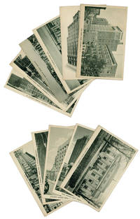 Eleven photographic post card views of Elizabeth, New Jersey, ca 1930s