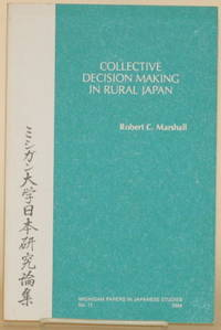 image of COLLECTIVE DECISION MAKING IN RURAL JAPAN