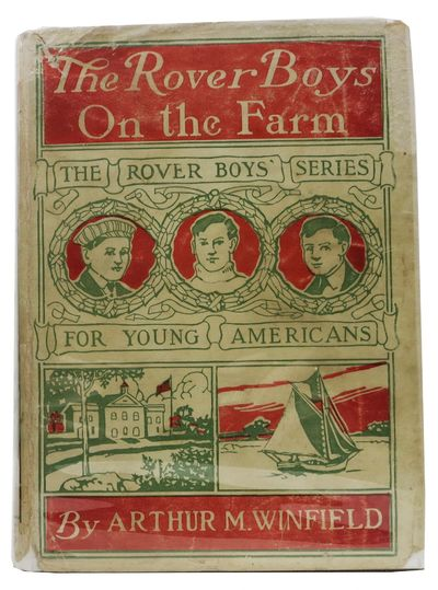 New York: Grosset & Dunlap, 1908. Circa 1920. Brown cloth with orange lettering & 3 boys' busts (Mat...