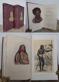 THE NATURAL HISTORY OF MAN, comprising Inquiries into the modifying influence of Physical and Moral Agencies on the different tribes of the Human Family. by PRICHARD, James Cowles.: - 1855
