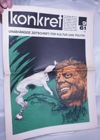 image of Konkret, 1961, May 5, No. 9 Unabhängige Zeitschrift Für Kulture und Politik