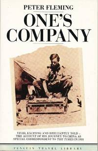 image of One's Company: A Journey to China in 1933 (Travel Library)