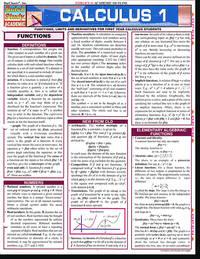 Calculus Study Guides (Calculus 1, Calculus 2, Calculus Methods)