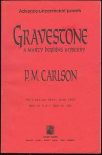Image for GRAVESTONE A Marcy Hopkins Mystery