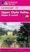 image of Upper Clyde Valley, Biggar and Lanark (Landranger Maps)