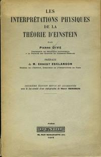 image of Les Interpretations Physiques de la Theorie D'Einstein