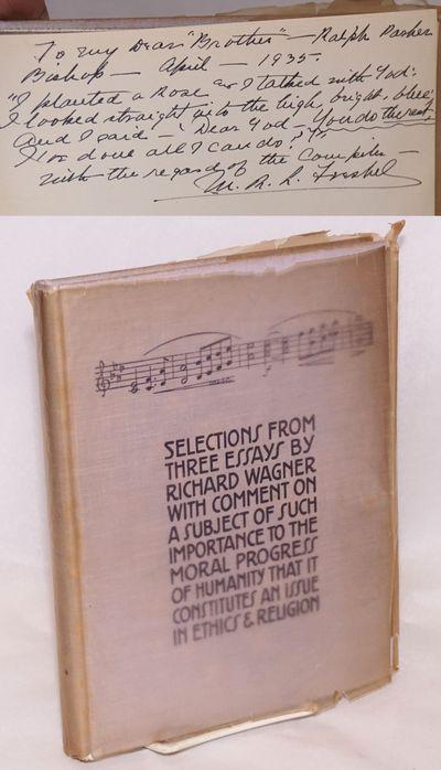 N. pl: The Millenium Guild, 1935. 184p., second edition, inscribed by Millenium Guild president M. R...